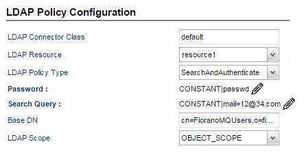 Using LDAP Policy - API_11 0 - Fiorano Product Documentation