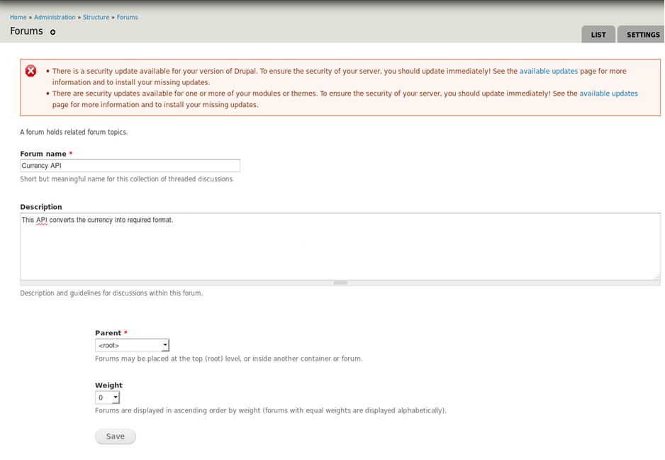 Forum - API_11 0 - Fiorano Product Documentation