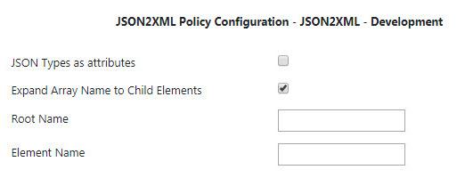 JSON to XML - API Public Doc - Fiorano Product Documentation