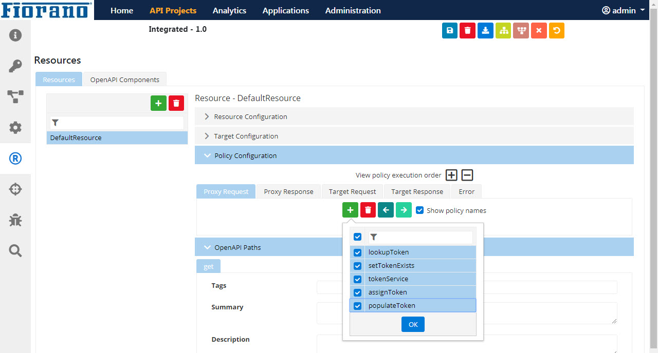 Invoking OAuth and Caching Access Tokens - API Public Doc - Fiorano