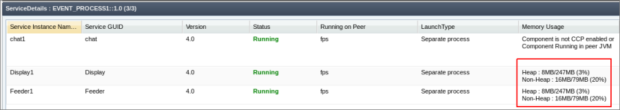 Managing JVM Settings and In-memory Execution - ESB_10 3 3