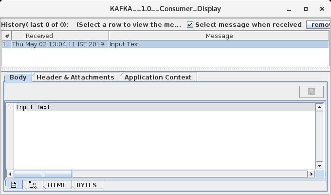 KafkaConnector - ESB PUBlic doc - Fiorano Product Documentation