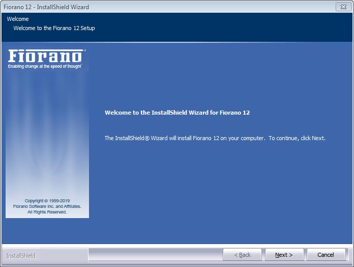 Installing on Windows - ESB 12 0 - Fiorano Product Documentation