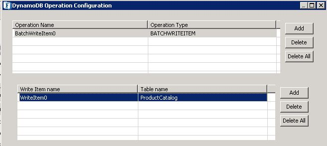 DynamoDB - ESB 12 0 - Fiorano Product Documentation
